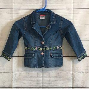 Rare Vintage Levi's Jean Jacket, children's size 4T
